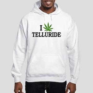 I Love Cannabis Telluride Colorado Hooded Sweatshi