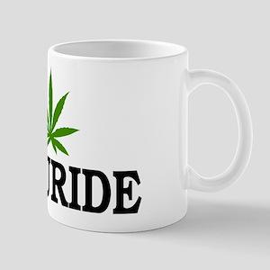 I Love Cannabis Telluride Colorado Mug