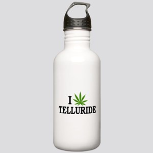 I Love Cannabis Telluride Colorado Stainless Water