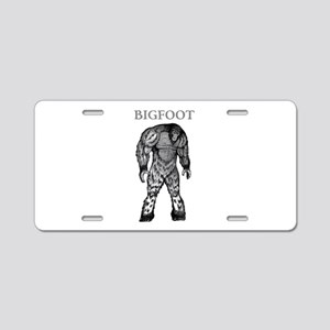 BIGFOOT Aluminum License Plate