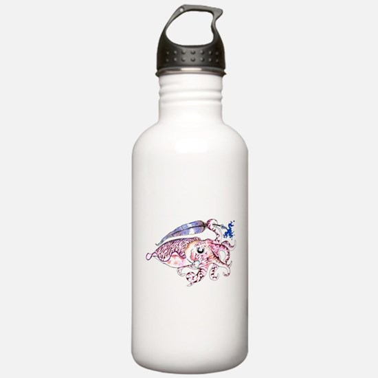 Funny Cuttlefish Water Bottle