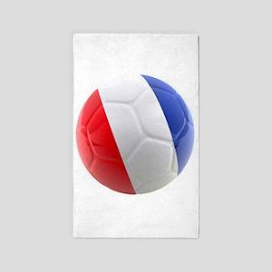 France world cup ball 3'x5' Area Rug