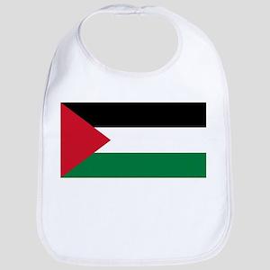 Palestine - Natinal Flag - Current Cotton Baby Bib