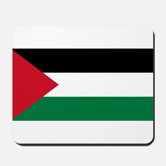 Palestine - Natinal Flag - Current Mousepad