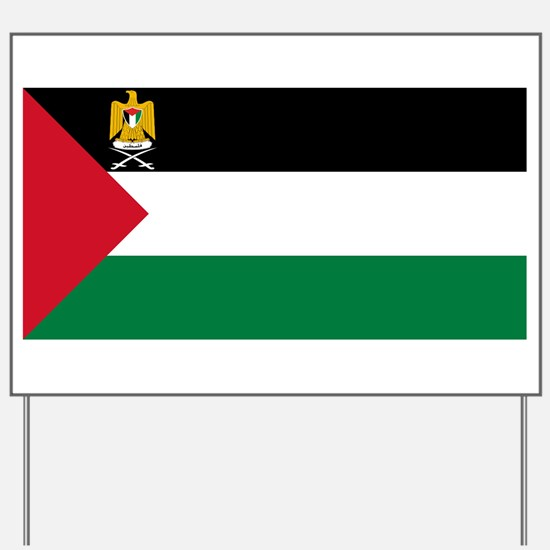 Palestine - State Flag - Current Yard Sign