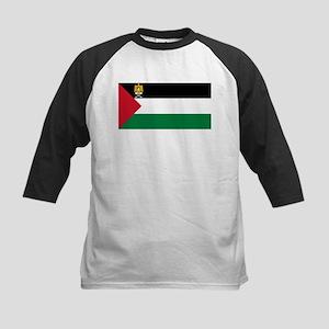 Palestine - State Flag - Current Kids Baseball Tee