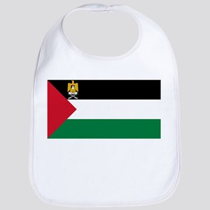 Palestine - State Flag - Current Cotton Baby Bib