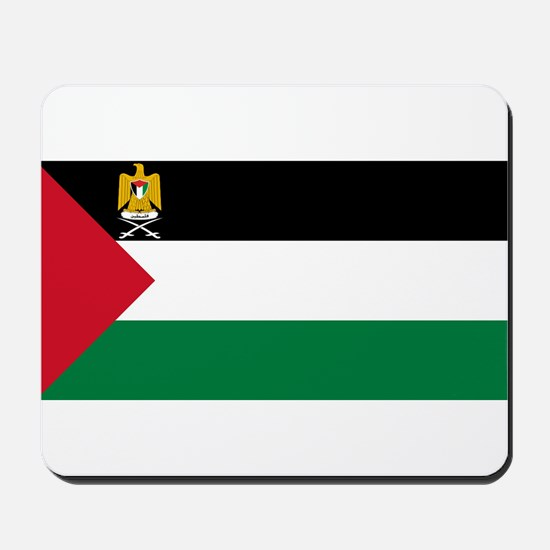 Palestine - State Flag - Current Mousepad