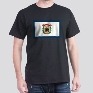 West Virginia State Flag Dark T-Shirt