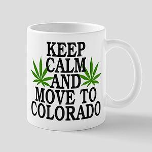 Keep Calm And Move To Colorado Mug