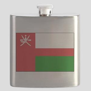 Oman - National Flag - 1970-1995 Flask
