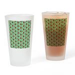 Rainbow Star Pattern Drinking Glass