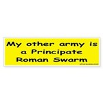 """Roman Swarm"" Sticker for you Wargames C"