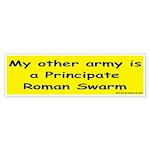 """Roman Swarm"" Sticker for you Wargames C"