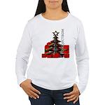 Russia Christmas Women's Long Sleeve T-Shirt