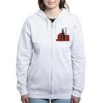 Sheng Dan Kuai Le Women's Zip Hoodie