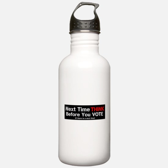 Next Time Think Water Bottle