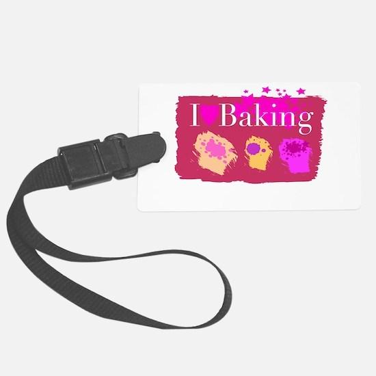 I Heart Baking Luggage Tag