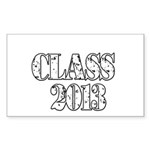 CLASS2013 Sticker (Rectangle)