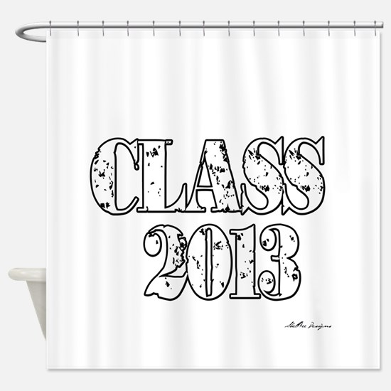 CLASS2013.png Shower Curtain
