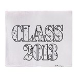 CLASS2013 Throw Blanket