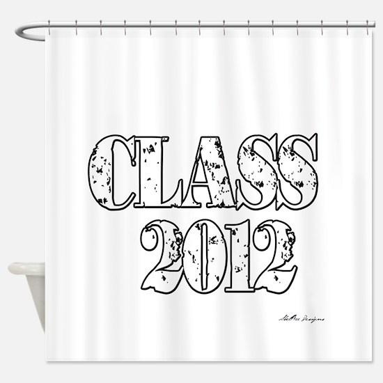 Class 2012 Shower Curtain