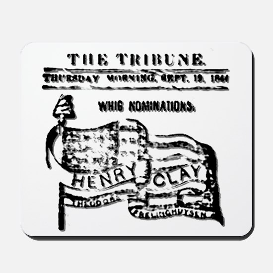 The Great Compromiser (Henry Clay) Mousepad