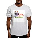 Happy Halloween Ash Grey T-Shirt