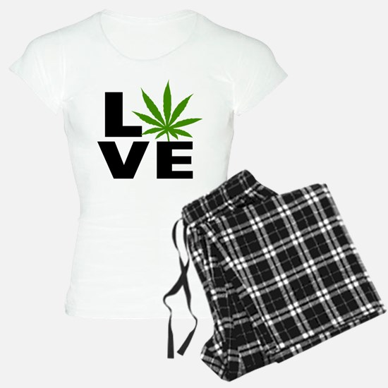 I Love Marijuana Pajamas