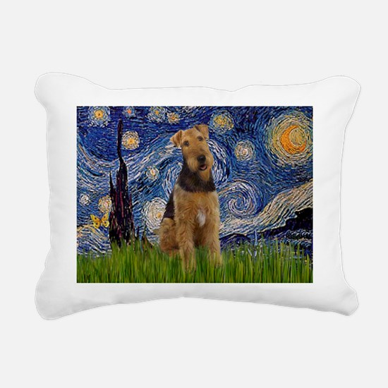 5.5x7.5-Starry-Airedale1.png Rectangular Canvas Pi