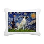 Starry-AnatolianShep 2 Rectangular Canvas Pillow