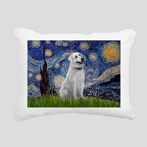 Starry-AnatolianShep1 Rectangular Canvas Pillow