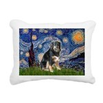 STARRY-Aussie-Tri-Lcy Rectangular Canvas Pillo