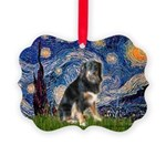 STARRY-Aussie-Tri-Lcy Picture Ornament