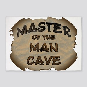 Master Of The Man Cave 5'x7'Area Rug