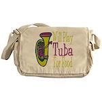 (CP) Will Play Tuba lt Messenger Bag