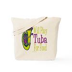 (CP) Will Play Tuba lt Tote Bag