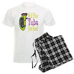 (CP) Will Play Tuba lt Men's Light Pajamas