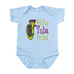 (CP) Will Play Tuba lt Infant Bodysuit