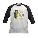 (CP) Will Play Tuba lt Kids Baseball Jersey