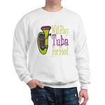 (CP) Will Play Tuba lt Sweatshirt