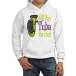 (CP) Will Play Tuba lt Hooded Sweatshirt