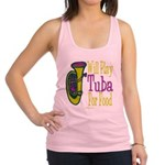 (CP) Will Play Tuba lt Racerback Tank Top
