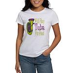 (CP) Will Play Tuba lt Women's T-Shirt