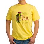 (CP) Will Play Tuba lt Yellow T-Shirt