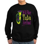 (CP) Will Play Tuba dk Sweatshirt (dark)