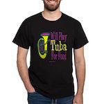 (CP) Will Play Tuba dk Dark T-Shirt