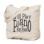 Will Play Piano Tote Bag