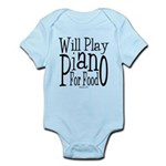 Will Play Piano Infant Bodysuit
