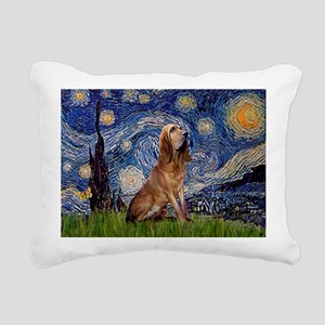 5.5x7.5-Starry-Bloodhound Rectangular Canvas P